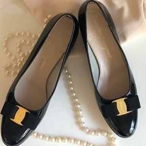 Sold Patented Salvatore Ferragamo  Loafers •8.2